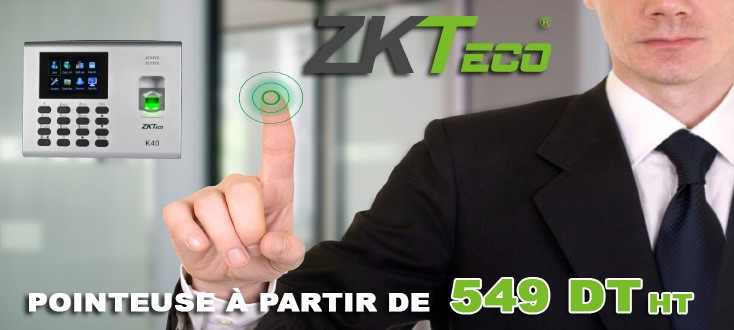 Pointeuse ZKT eco K40